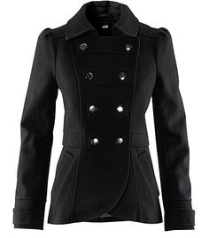 I love coats like this. I have one that looks similar, but it's gray and not quite as long.