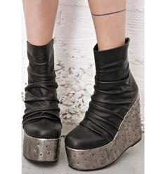 2d83303d146 Current Mood Garageland Platforms Grey Shoes