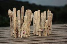 photophores bois flotté lot de 2, latitude 42.02 Made in Corsica Création bijoux et bois flotté