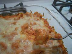 Cooking What I Pin: Tortellini Bake