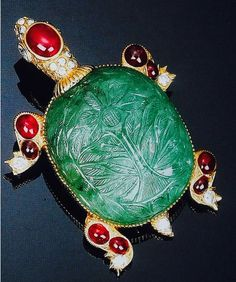 Tartaruga...preziosa di Cartier..