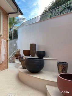 Construction Site Villa Son Vida Mallorca   studio a.s.h. Ash, Villa, Construction, Studio, Design, Home, Interior Architecture, House