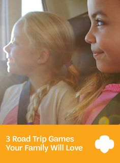 Traffic, shmaffic. With games this fun, the time will fly right by! #parenting #raisinggirls #GirlScouts
