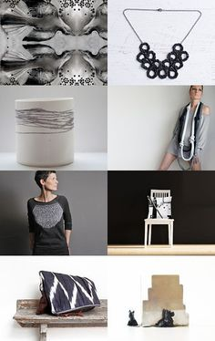 -Minimal style in black & white -Pinned with TreasuryPin.com