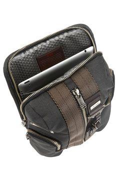 Tumi 'Alpha Bravo Monterey' Sling Bag iPad pouch.