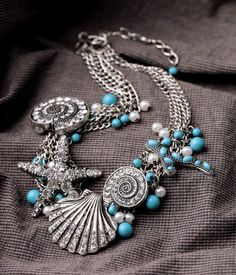 """Wholesale Silver Plated """"O"""" Chain Necklace For Pendant Fashion Jewelry. Halloween Costumes 2014, Sea Theme, Drop, Starfish, Shells, Best Gifts, Bubbles, Fashion Jewelry, Brooch"""