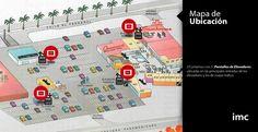 Mapa de ubicación//Pantalla de Elevadores-Centro Comercial Multiplaza.