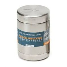 These insulated food Canisters replace a lifetime of throw-away plastic/paper containers and bags. High quality and Eco friendly, these vacuum insulated canisters can keep things toasty warm (up to 4 hours) or icy cold (up to 12 hours). Food Canisters, Food Containers, Health And Wellbeing, Vacuums, Household, Canning, 4 Hours, Lunch Time, Eco Friendly