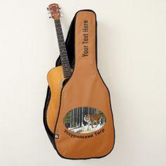 Amur (Siberian) Tiger Guitar Case -nature diy customize sprecial design