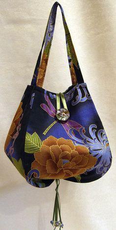Noriko Handbag PDF Sewing Pattern + Six Sewing Machine Maintenance Tips  with Joan Hawley and Nancy Zieman
