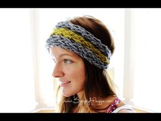 How to Finger Knit an Ear Warmer in 15 Minutes with Simply Maggie - YouTube