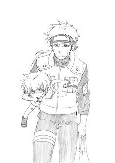 Kakashi and Sakumo