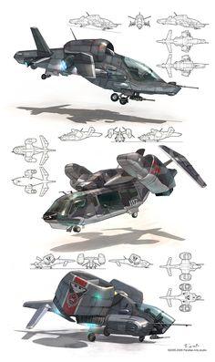 VTOL Concepts Author: Jett0
