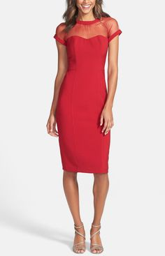 Love this stunning red dress for Valentine's Day!