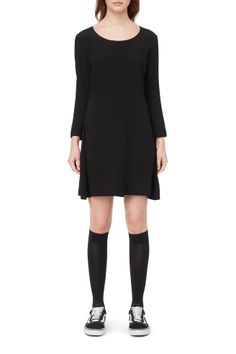 Weekday image 2 of Merci Dress in Black