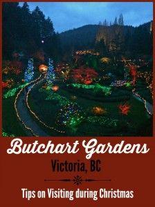 Butchart Gardens at Christmas