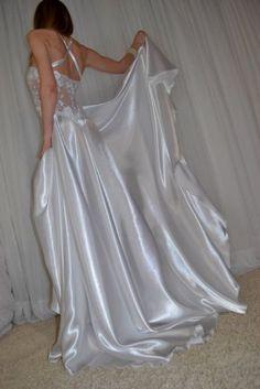 Satin Nightie, Silk Satin Dress, Satin Sleepwear, Satin Lingerie, Bridal Lingerie, Pretty Lingerie, Satin Dresses, Nightwear, Satin Bra