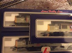 37 154 x 3 all excellent condition and mint-in-box acquired from Chalk Garden Rail 20/06/15