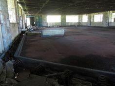 Boblo Island Amusement Park, Bois Blanc Island, Ontario 1898 - 1993 - inside the bumper car building