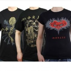 T-Shirt Bundle: 2x T-Shirt (Band & Perfectly Defect) 1x Girlie Shirt (Vodoo Heart) Please add you prefered sizes to the order. T-Shirt Band: S,M,L T-Shirt Perfectly Defect: S,M,L,XL Girlie Shirt: M,L