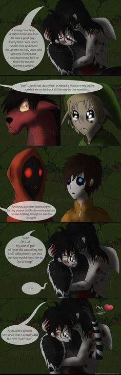 Adventures With Jeff The Killer - PAGE 22 by Sapphiresenthiss on deviantART