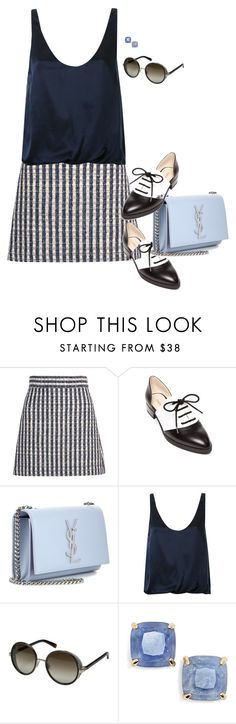 """""""Nine West"""" by tina-pieterse ❤ liked on Polyvore featuring Miu Miu, Nine West, Yves Saint Laurent, 3.1 Phillip Lim, Jimmy Choo and Kate Spade"""