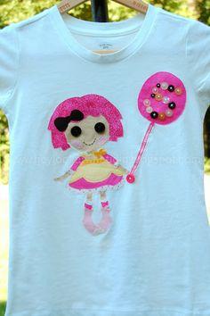 Hey! Look at what I did!: Lalaloopsy Birthday Shirt