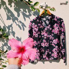 Cheiro de flor  #lojaamei #flor #rosa #hibiscus #outono #inverno