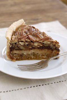 Deep-Dish Chocolate Bourbon Pecan Pie