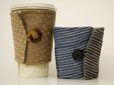 Very Manly Coffee sleeves, set of 2 $18  100% goes to Japan