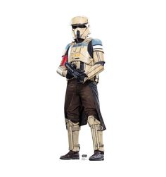 Features:  -Can be mounted to a wall or door, or stand by itself.  -Comes with an easel.  -Made in the USA.  -Matte finish.  -Solid corrugated cardboard construction.  -Star Wars Rogue One collection.
