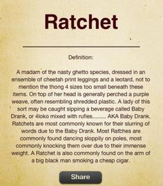 a madam of the nasty ghetto species, dressing in cheetah print leggings and a leotard Bitch Quotes, Me Quotes, Funny Quotes, Mean Girls, Girls Be Like, Ratchet Quotes, Purple Weave, Funny Definition, Bad Barbie