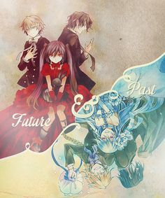 Oz & Alice & Gil | Pandora Hearts #anime #manga
