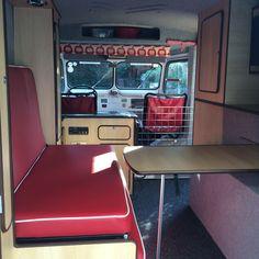 Citroen H Van, Le Tube, Camper Interior, Events, Van, Campervan Interior, Rv Interior