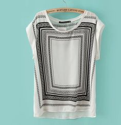 Leisure wild short-sleeved T-shirt