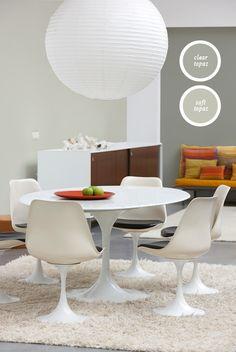 Modern Topaz, onze grijzen met een puntje geel die een natuurlijke en aangename rust geven. Perfect in combinatie met sterke accenten en dessins.
