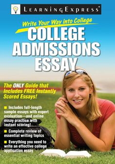 Winning College Essays. The college admissions essay offers students ...