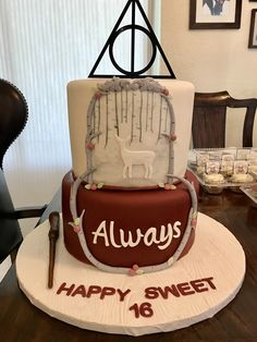 Harry Potter Always Cake