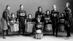 """Feminism in the Post-Smith-College World    """"I'm not going to Smith College.""""    That's the first thing I said to my college counselor, when at 16 years old and a junior in highschool, I came shuffling into her office in my leather jacket and walmart-bought steel-toed boots...    (image: Smith College Class of 1902 Basketball Team)"""