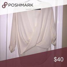 Michael Kors blouse Michael Kors silk blouse in an off-white Michael Kors Tops Blouses
