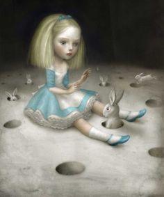 """poisoned-apple:    Alice (via Nicoletta Ceccoli – """"Incubi Celesti""""@ Dorothy Circus)"""