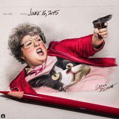 Melissa McCarthy in 'Spy' by Shaun D'Souza