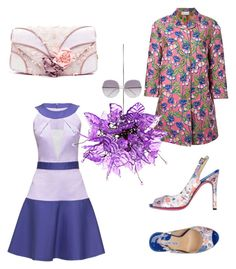 """""""Aries"""" by scope-stilettos ❤ liked on Polyvore featuring RED Valentino, Lattori, Universal Lighting and Decor, Chloé, Luciano Padovan and Irregular Choice"""