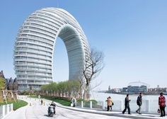 Sheraton Huzhou Hot Spring Resort by MAD Architects