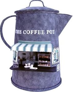 how to: The Coffee Pot espresso stand by Joann Swanson (full instructions and printables)