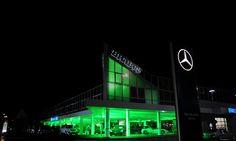 BRABUS headquarter, Bottrop, Germany by night