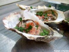 """750g vous propose la recette """"Les huîtres aux saveurs Aquitaine"""" notée 4.3/5 par 7 votants."""