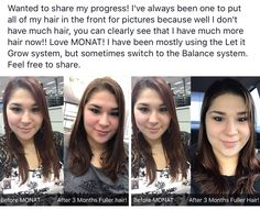 Are you wanting healthy hair growth? Monat is amazing and guaranteed! Natural botanical anti aging hair care