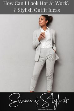 Are you low on inspiration for Office outfits for work? I can help with that! Check out some looks I virtually styled to conquer your workday fashionably! Office Look Women, Office Outfits Women, Stylish Outfits, Work Fashion, Daily Fashion, Business Casual Men, Men Casual, Mens Clothing Styles, Casual Looks