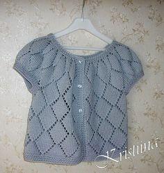 94bd6be72933 Ravelry: Silver Cardigan pattern by Kristiina Temin. Sotiria Stoiou · Μπεμπε  ζακετακια